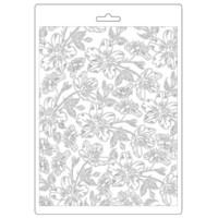 Stamperia - Soft Mould, Atelier, Muotti, A5, Van Gogh Blossoms
