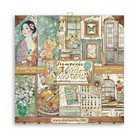Stamperia - Atelier des Arts, Paper Pack 12