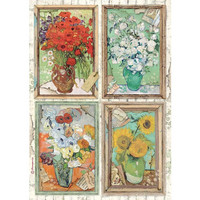 Stamperia - Atelier, Rice Paper, A4, Van Gogh