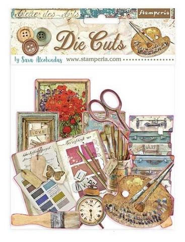 Stamperia - Atelier, Die Cuts, Arts