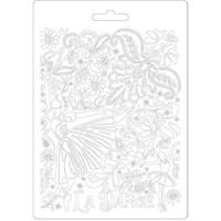 Stamperia - Passion, Soft Mould, Muotti, A5, Dancer