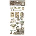 Stamperia - Voyages Fantastiques, Chipboard