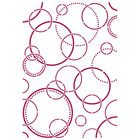 Stamperia - Romantic Threads, Stencil A4, Bubbles
