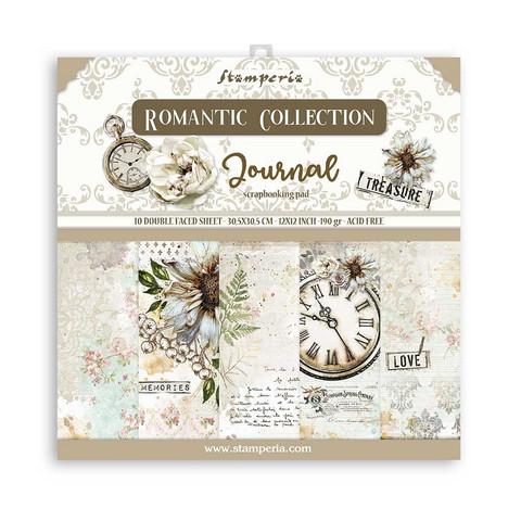 Stamperia - Romantic Journal, Paper Pack 12
