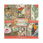 Stamperia - Amazonia, Paper Pack 8