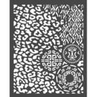 Stamperia - Amazonia, Stencil 20x25cm, Animalier with Tribals