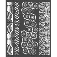 Stamperia - Amazonia, Stencil 20x25cm, Tribals