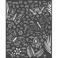 Stamperia - Amazonia, Stencil 20x25cm, Butterflies