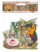 Stamperia - Amazonia, Die Cuts, 47osaa