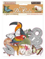 Stamperia - Amazonia, Clear Die Cuts, 48osaa