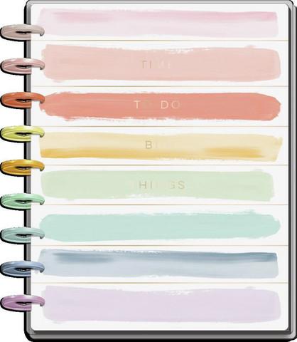 MAMBI - CLASSIC Happy Planner, Painterly Pastels, päivätty 18kk