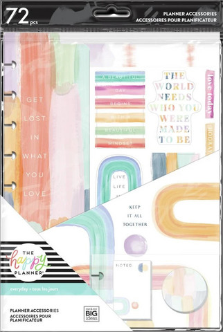 MAMBI - CLASSIC Planner Accessory Pack, Painterly Pastels
