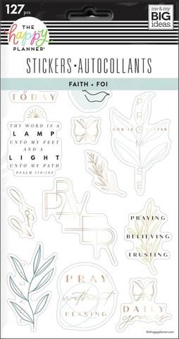 MAMBI - Happy Planner, Tarrasetti, 5 arkkia, Simple Faith