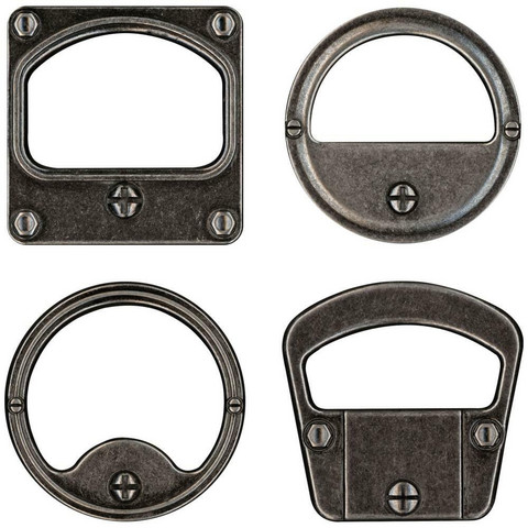 Tim Holtz - Idea-Ology Metal Gauge Frames, 4 kpl