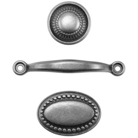 Tim Holtz - Idea-Ology Metal Hardware Pulls, 3 kpl