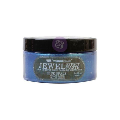 Prima Marketing - Finnabair Art Extravagance Jewel Texture Paste, Blue Opals, 100ml