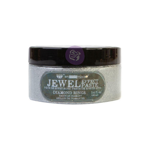 Prima Marketing - Finnabair Art Extravagance Jewel Texture Paste, Diamond Rings, 100ml