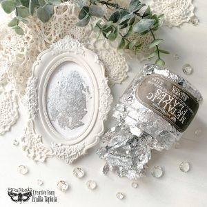 Prima Marketing - Finnabair Art Ingredients Metal Flakes, Silver, 150ml