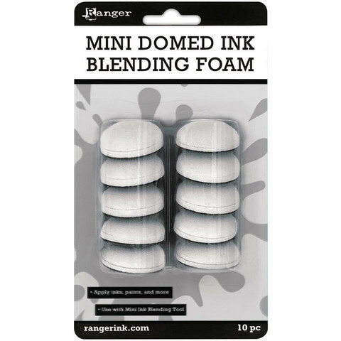 Ranger - Mini Domed Ink Blending Foams, 10kpl