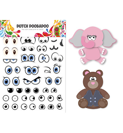 Dutch Doobadoo - Sticker Art Eyes, Tarra-arkki