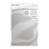 Tonic - Askartelumetalliarkki, Silver Foil A4, 5 arkkia