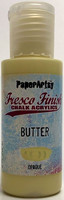 PaperArtsy - Fresco Finish, Akryylimaali, Butter, 50ml