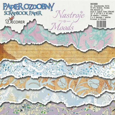 Decorer - Moods, Paper Pack 12
