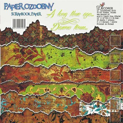 Decorer - A Long Time Ago, Paper Pack 12