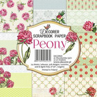 Decorer - Peony, Paper Pack 6