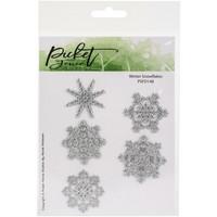 Picket Fence Studios - Winter Snowflakes, Stanssisetti