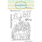 Colorado Craft Company - Bunnies & Robin-By Anita Jeram, Leimasetti
