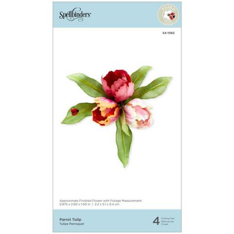 Spellbinders - Etched Dies, Stanssisetti, Parrot Tulip