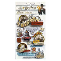 Paper House - 3D Stickers, Harry Potter, Tarrasetti