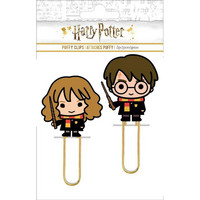 Paper House - Life Organized Puffy Clips, Harry & Hermoine