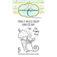 Colorado Craft Company - Ice Cream Day Mini-By Anita Jeram, Leimasetti