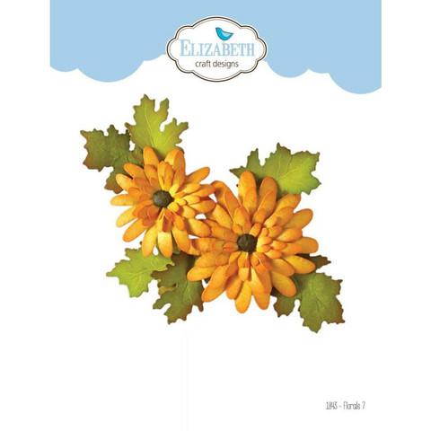 Elizabeth Craft Design - Florals 7, Stanssisetti
