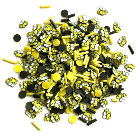 Buttons Galore - Sprinkletz Embellishments, 12g, Bumble Bees