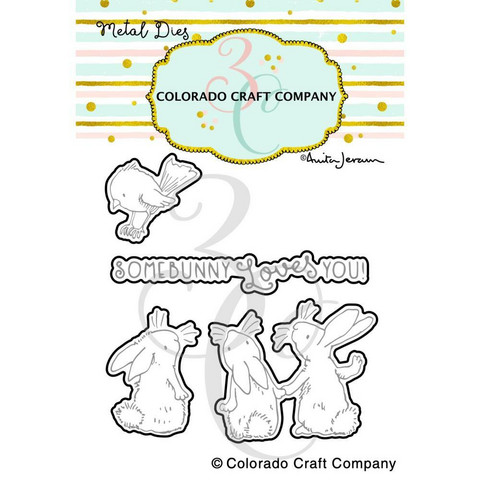 Colorado Craft Company - Bunnies & Robin-By Anita Jeram, Stanssisetti