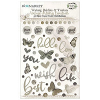 49 and Market - Vintage Artistry Essentials Wishing Bubbles & Trinkets