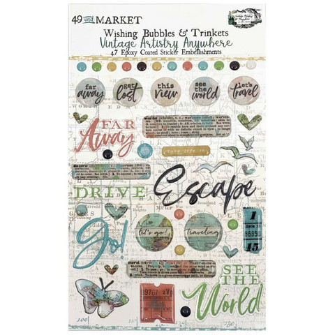 49 and Market - Vintage Artistry Anywhere Wishing Bubbles & Trinkets