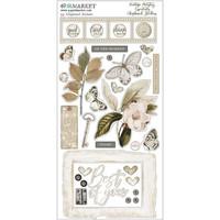 49 and Market - Vintage Artistry Essentials Chipboard Stickers 6