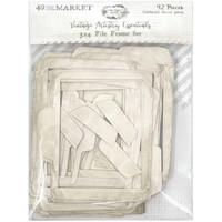 49 and Market - Vintage Artistry Essentials File Frame Set, 3