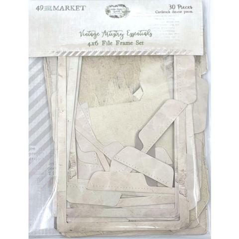 49 and Market - Vintage Artistry Essentials File Frame Set, 4