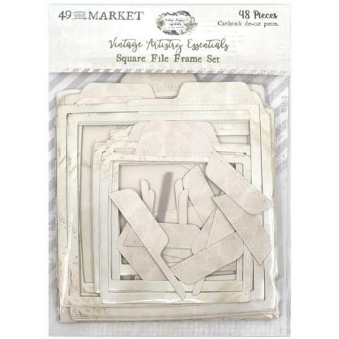 49 and Market - Vintage Artistry Essentials File Frame Set, Square
