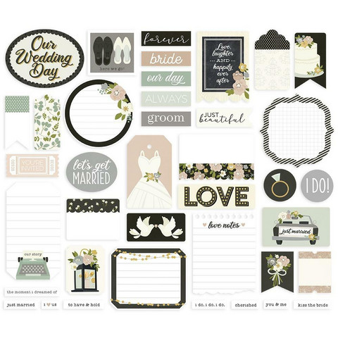 Simple Stories - Happily Ever After Journal Bits & Pieces, 39 osaa