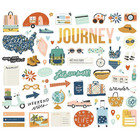 Simple Stories - Safe Travels Bits & Pieces, 71 osaa