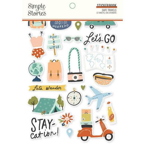 Simple Stories - Safe Travels, Tarrasetti, 12 arkkia