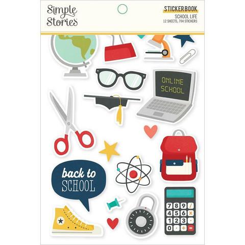 Simple Stories - School Life, Tarrasetti, 12 arkkia