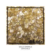 Studio Katia - Crystals, Gold Sparkle