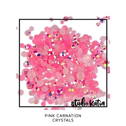 Studio Katia - Crystals, Pink Carnation